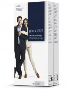 Verpackungen Gilofa 2000 Cotton Doppelpack - ab 2014